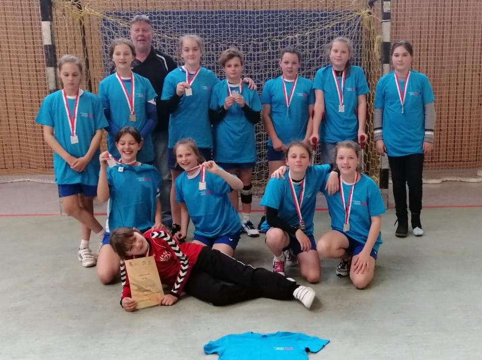 Handball-Team Landesfinale