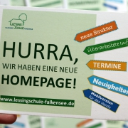 Postkarte neue Homepage