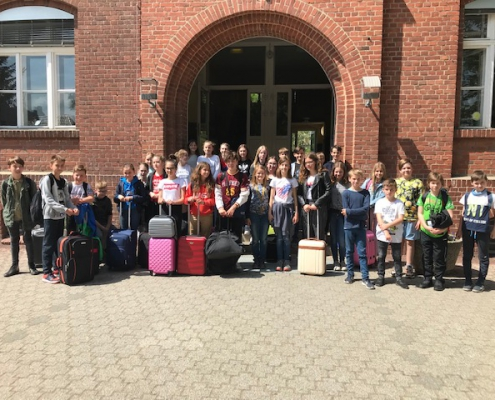 Unsere Partnerschule aus Polen besuchte die Lessing-Grundschule im Mai.
