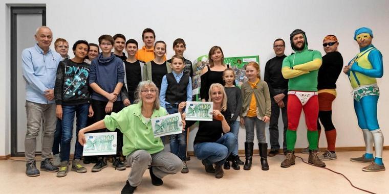 Insgesamt wurden fünf Initiativen mit dem Umweltpreis ausgezeichnet. (Quelle: MAZ, Peter-Paul Weiler)